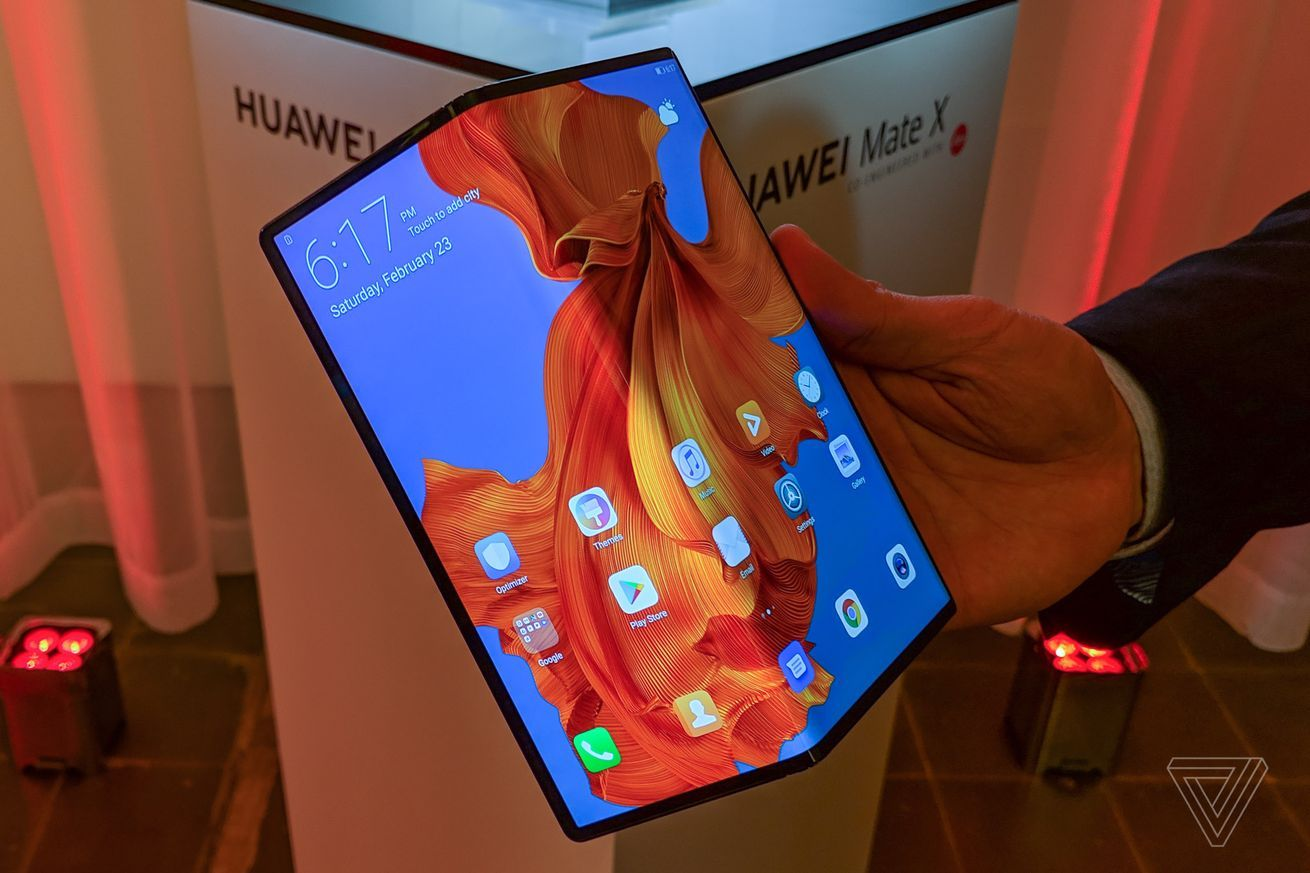 Huawei Teases Upgraded Mate X Foldable With Better Hinge And Tougher Screen Mobile News Tech Auto Trends Sponsored By Getbitco Huawei Smartphone Huawei Mate