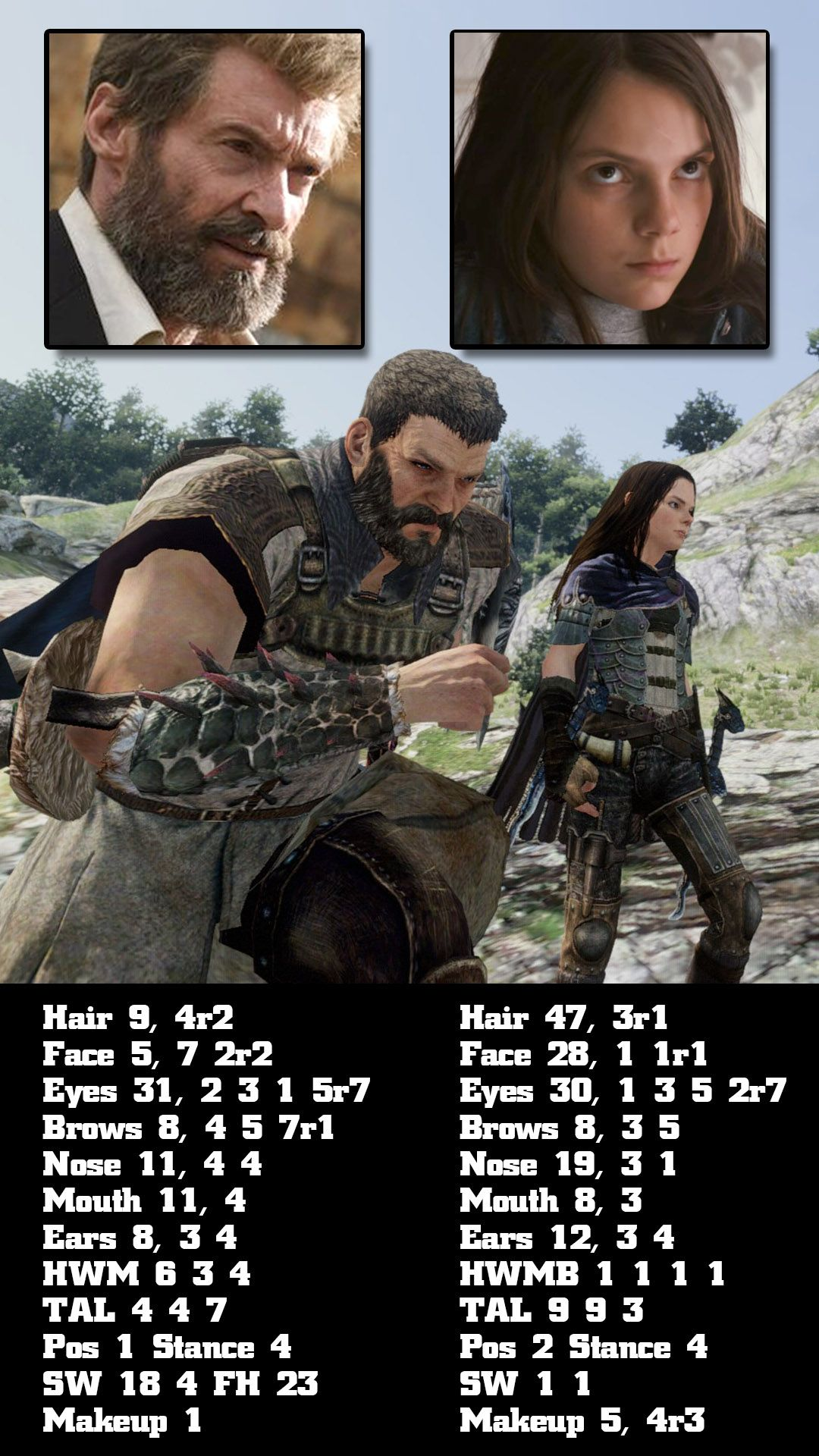 Dragon's Dogma's character creator lets you be a puny little kid or a huge jacked man.