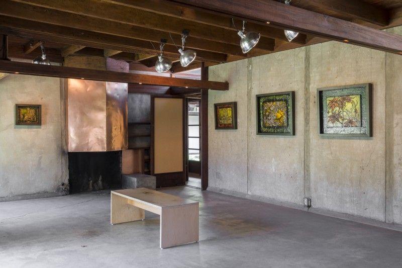Tony Greene at Schindler House MAK Center Schindler