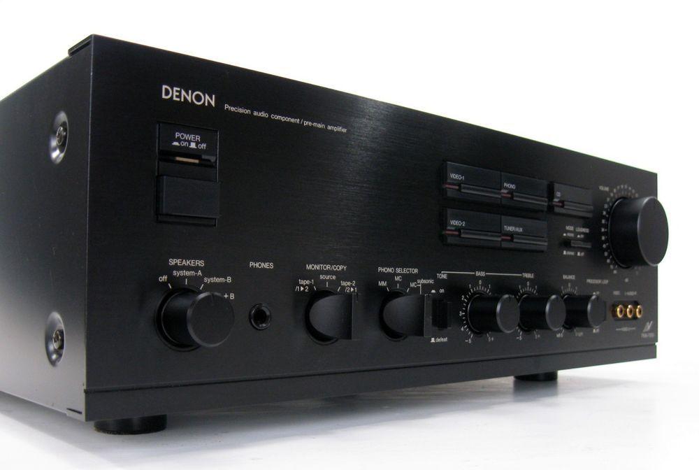 denon pma 700v stereo amplifier amp 100 wpc w phono mint with rh pinterest com Denon Integrated Amplifier Denon Power Amps