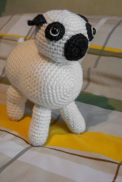 Bulldog frances amigurumi | Animalitos amigurumi | Pinterest ...