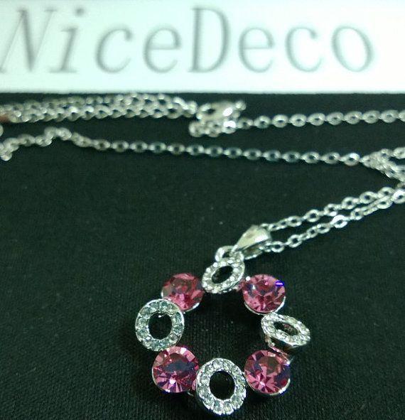 NiceDeco  fashion Ornament Swarovski Crystal Circle by NiceDeco, $9.77