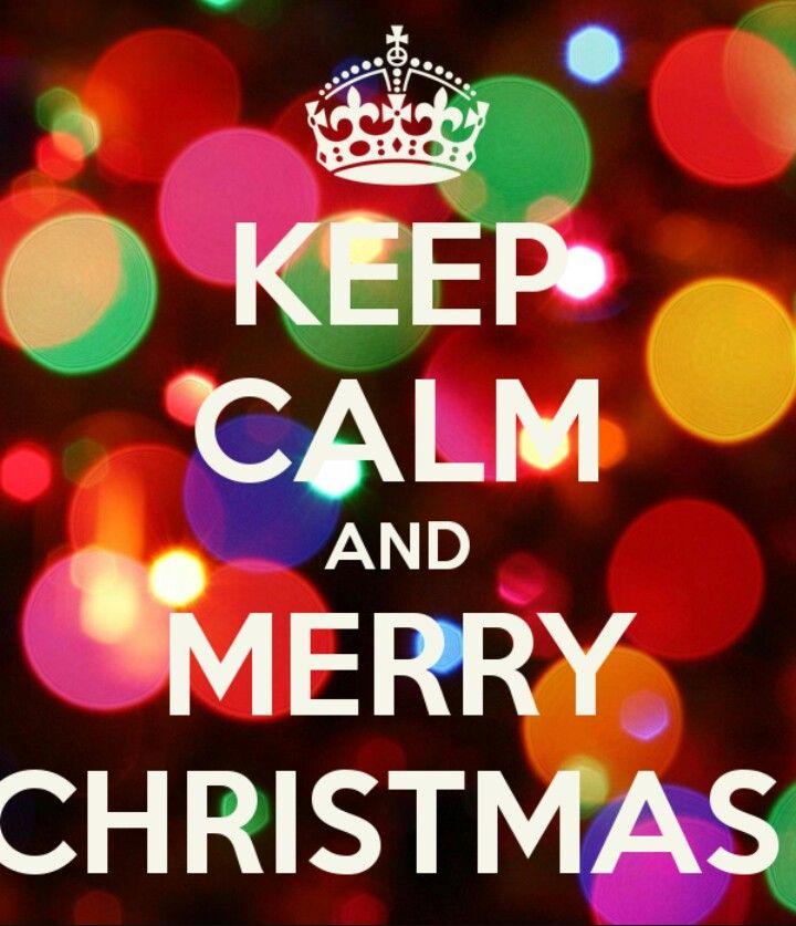 Keep calm and merry Christmas | Keep calm | Pinterest | Calming