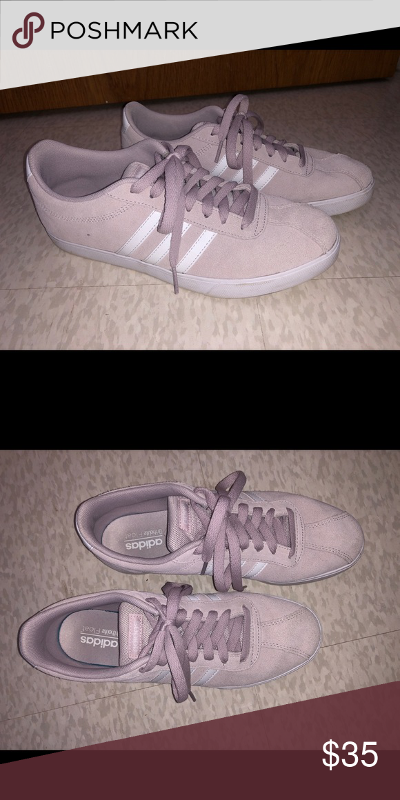 Lavendar Adidas Ortholite Float Shoes
