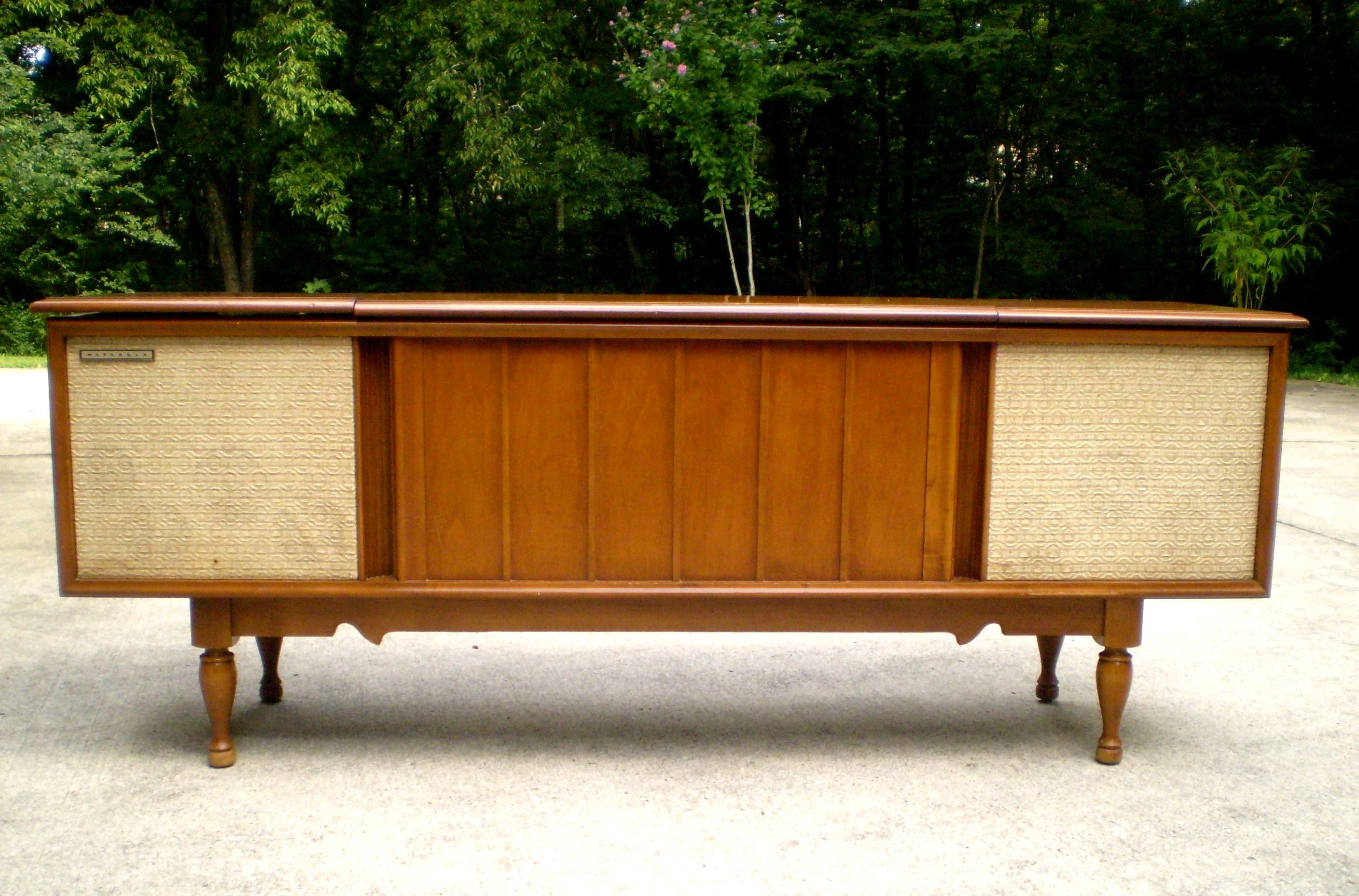 1959 Motorola Stereo Console Cabinet For Sale In Nashville, TN. SOLD!