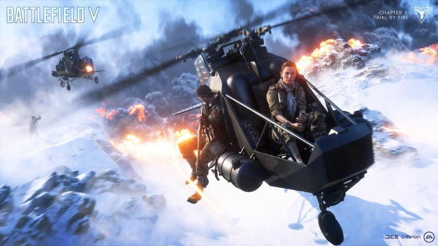 Battlefield V saiu o trailer de jogabilidade oficial de Fogo Cruzado  Battle Royale