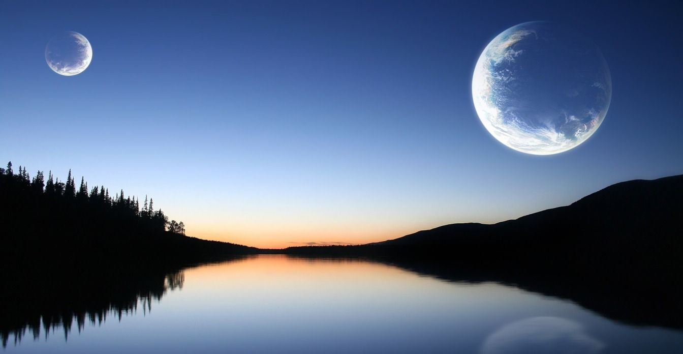 Earth Probably Has Two Moons Sometimes Dream With Two Moons My