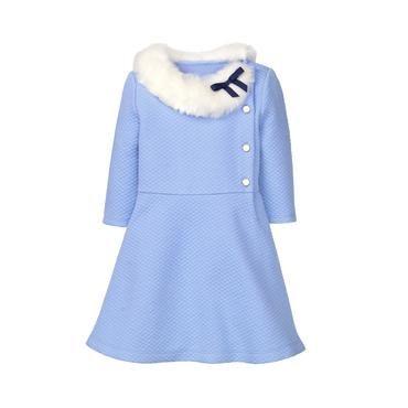 8e7a9d505 Faux Fur Quilted Dress