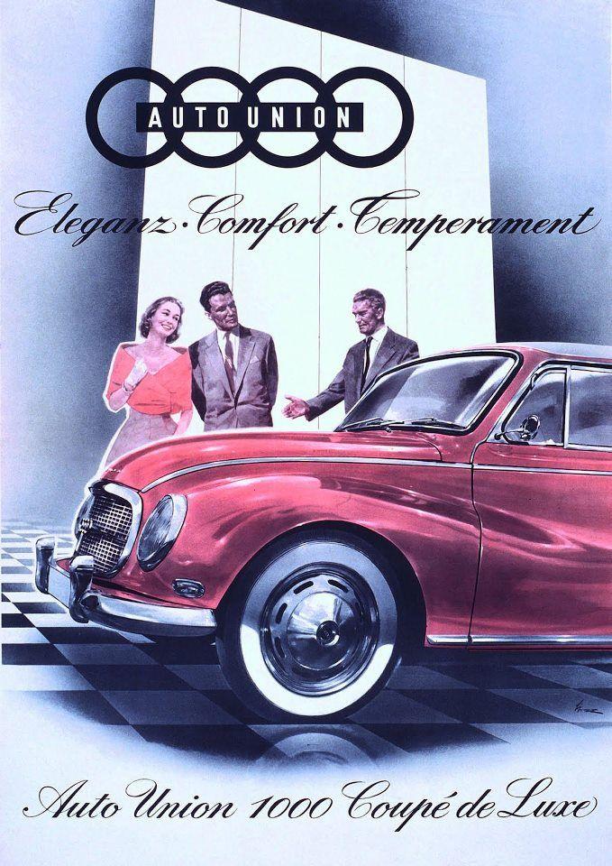 auto union dkw publicit auto vintage pinterest. Black Bedroom Furniture Sets. Home Design Ideas