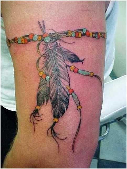 Indian Tribal Band Tattoo Indian Tattoos (Native...