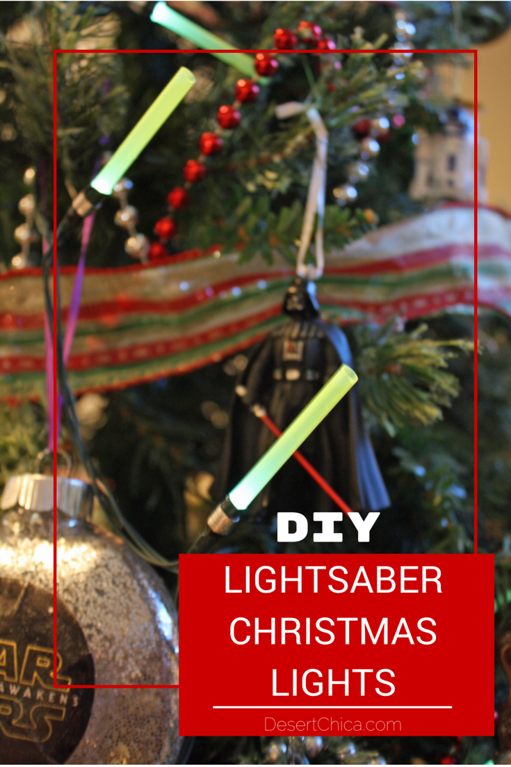 how to make diy star wars lightsaber christmas lights perfect for your christmas tree or even year round star wars decorations