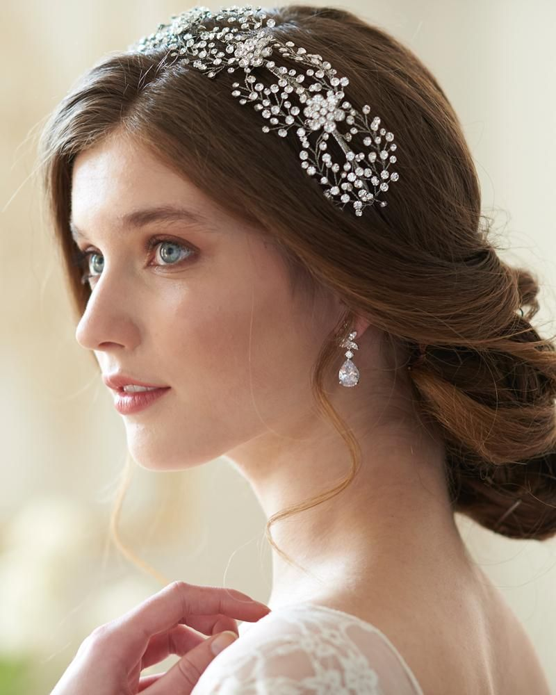 floral couture headband in 2019   hairstyles   headbands