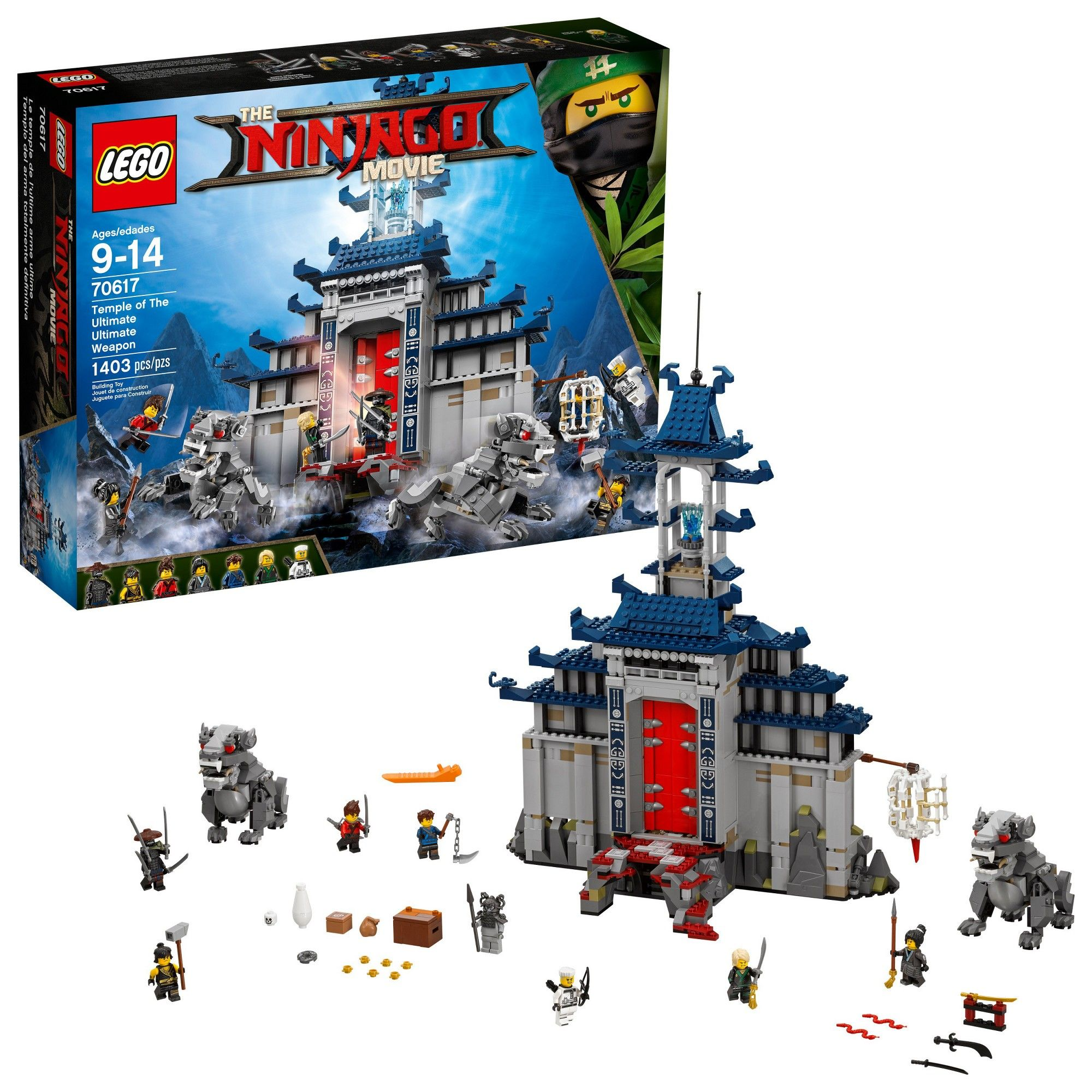 The Ultimate Lego Ninjago Temple Weapon Of 70617Products nOkwN80PXZ