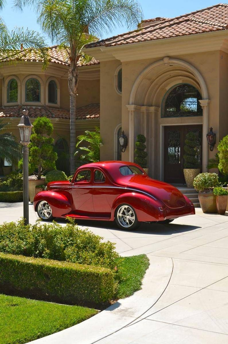 1940 Ford Deluxe Deluxe Coupe...Re-pin brought to you by agents of ...