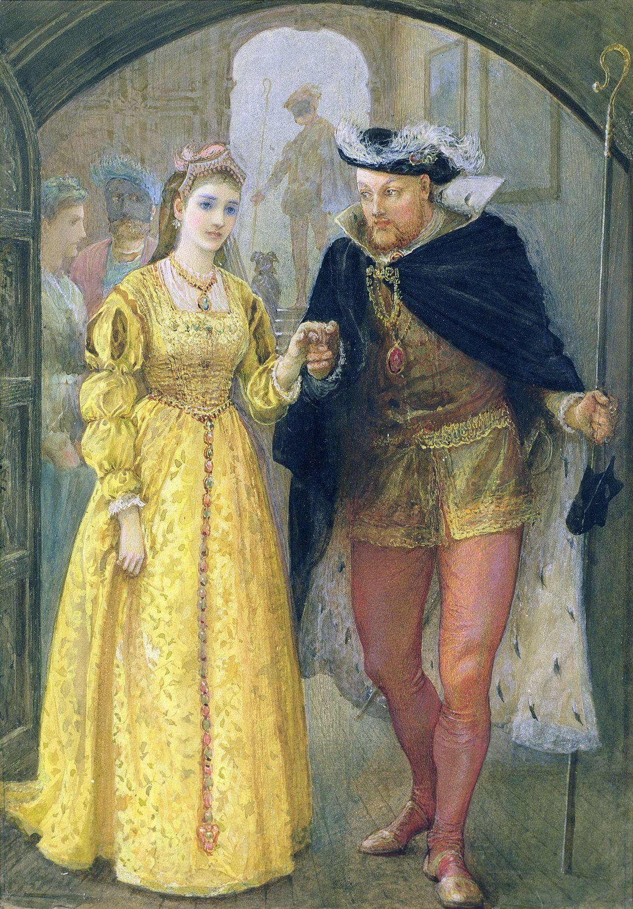 Arthur Hopkins - Henry VIII and Anne Boleyn