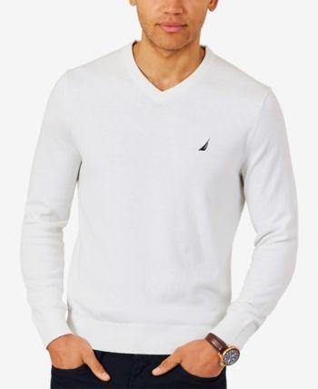 adbef8e85f0 Nautica Men Lightweight Jersey V-Neck Sweater in 2019 | Products ...
