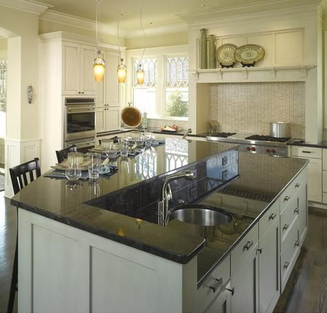 Do you need a second sink examining the trend towards two for Second kitchen ideas