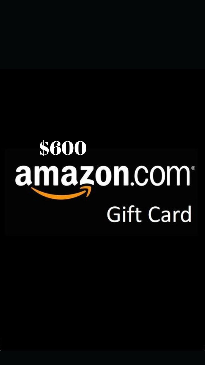 600 Amazon Gift Card Amazon Gift Card Free Amazon Gift Cards Mastercard Gift Card