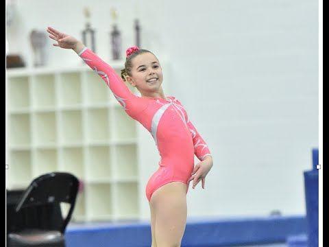 USGA 2013   2021 Level 3 Gymnastics Alinau0027s Floor Routine 9.625   YouTube