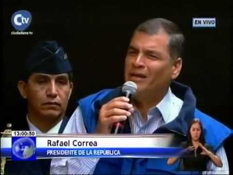 Presidente Rafael Correa rechazó marcha del 19 de Marzo