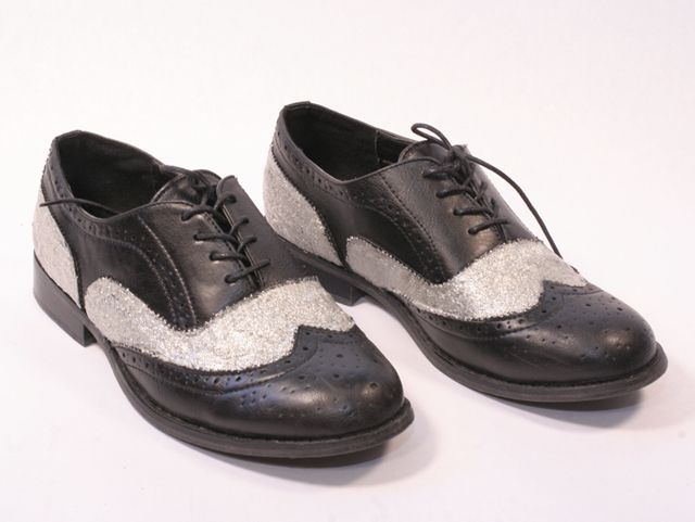 I Spy DIY: [I Spy] Dolce & Gabbana Metallic Oxfords