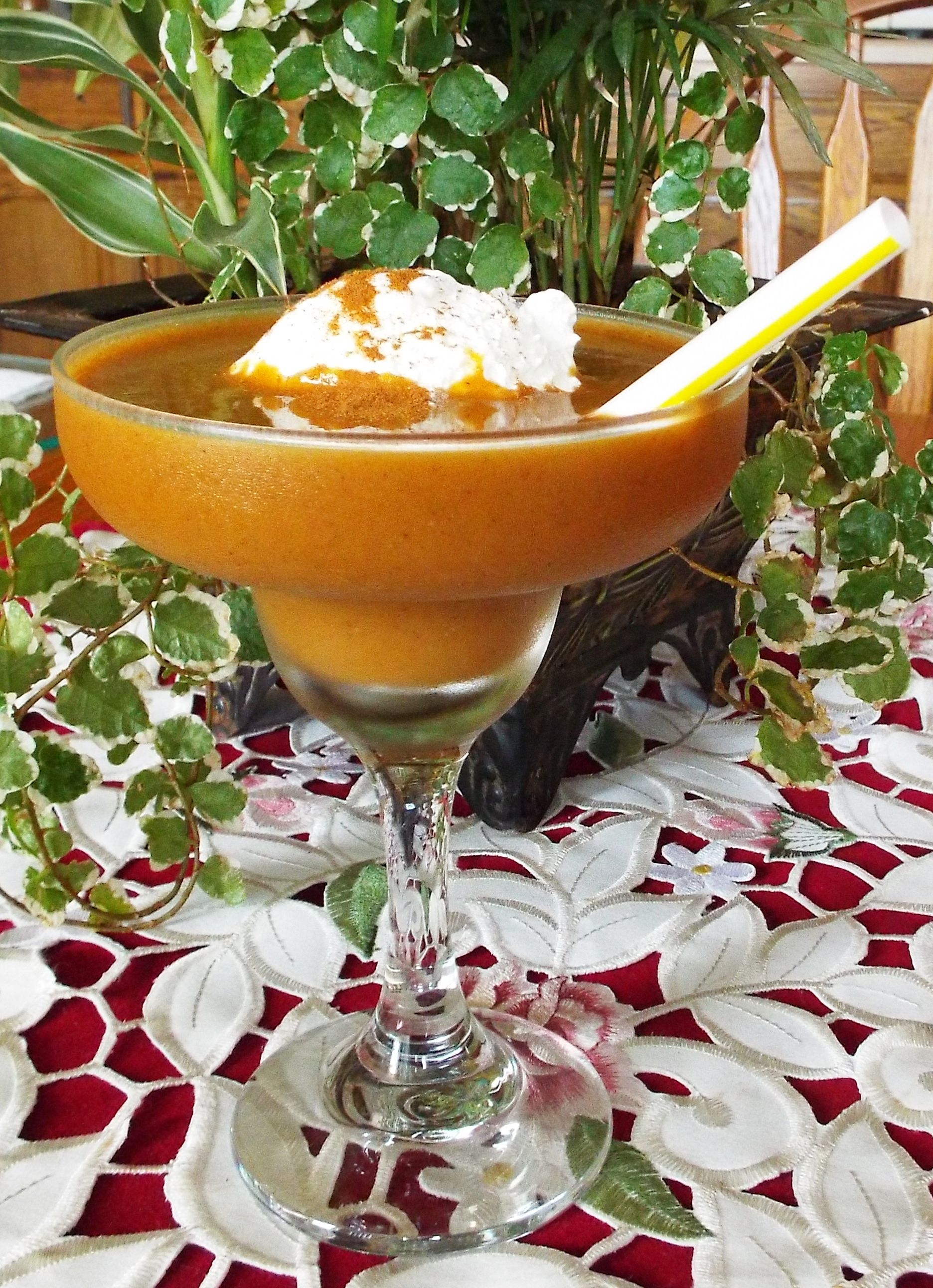 Pumpkin Frappe Recipe Pumpkin frappe recipe, Frappe
