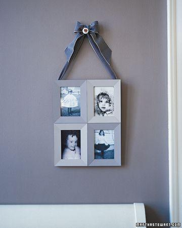 Four Frames in One | Martha stewart crafts, Craft and Martha stewart
