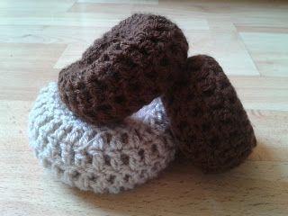 Crochet Bun Maker/Hair Donut - Tutorial ❥ 4U // hf