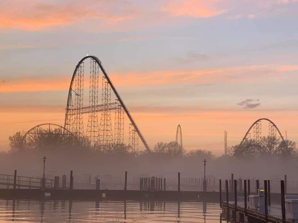 Cedar Point Sandusky Ohio Best Amusement Parks Cedar Point Places To Go