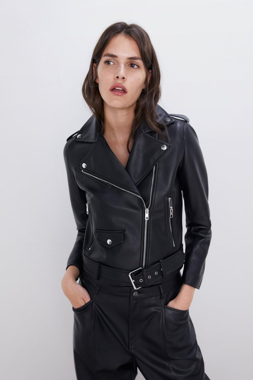 Faux leather biker jacket Jackets, Jackets for women