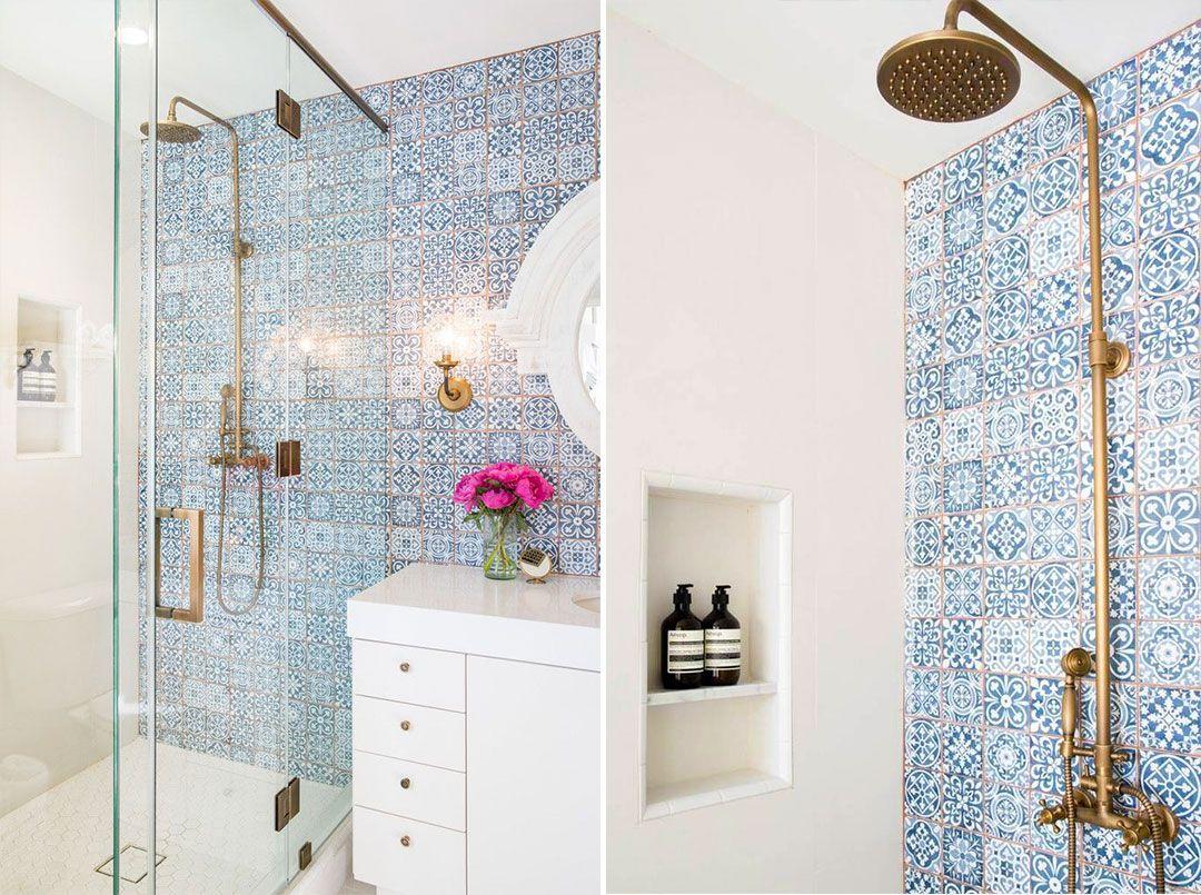 40 idee di bagno in blu e bianco - Bagno blu e bianco ...