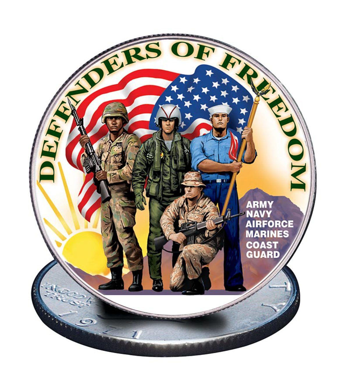 Inspired by the valor of our defenders of freedom, this