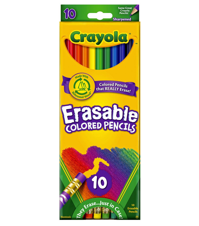 Crayola Erasable Colored Pencils Erasable Colored Pencils
