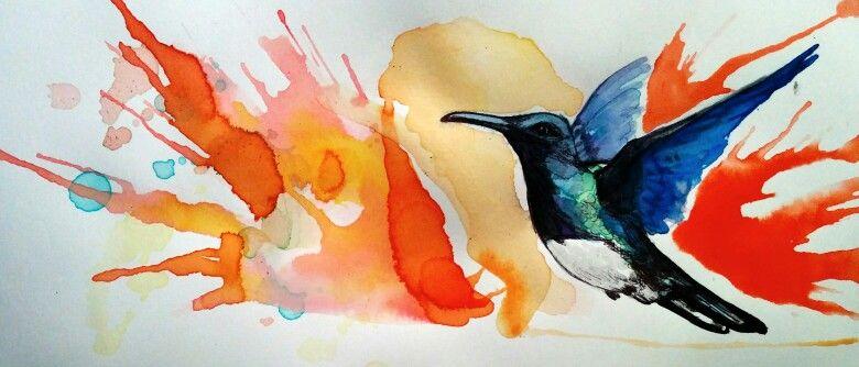 Ink colibri