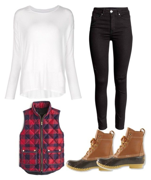 """Untitled #565"" by hannahjoyjacob on Polyvore featuring Majestic Filatures, J.Crew, L.L.Bean, women's clothing, women, female, woman, misses and juniors"