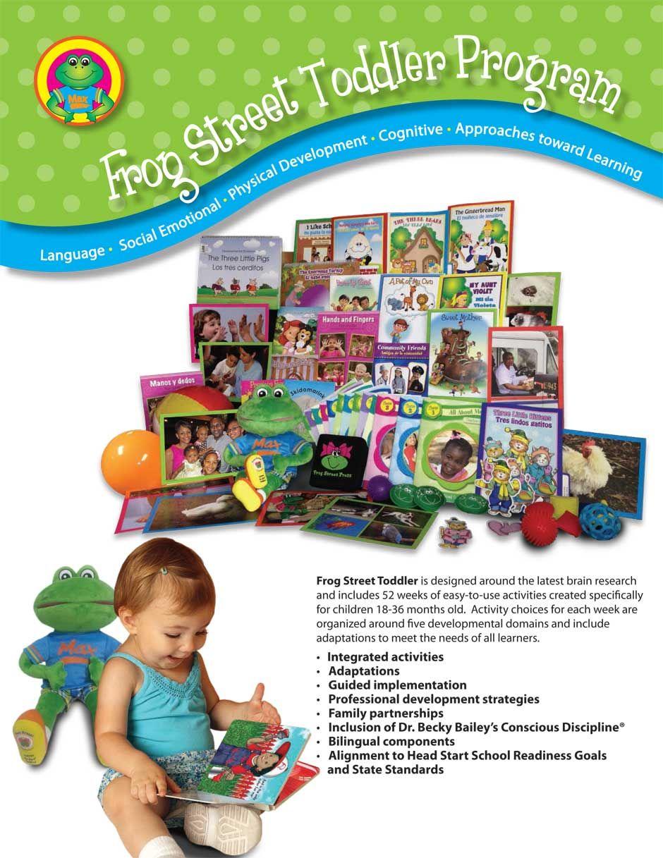 Frog street toddler early childhood development toddler