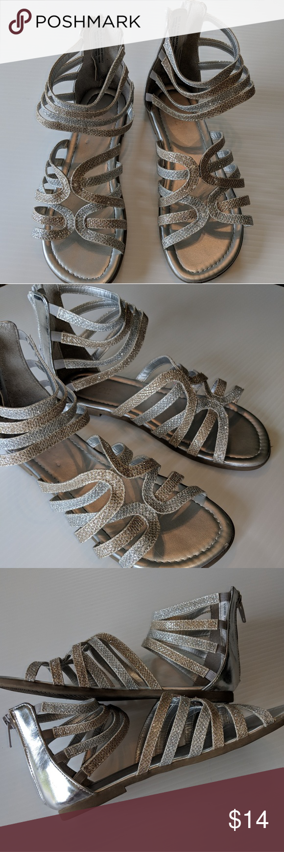 063dc9e7b2e GIRLS 3 CHILDREN S PLACE Strappy Sparkle Sandals There s still plenty of  warm days ahead so why