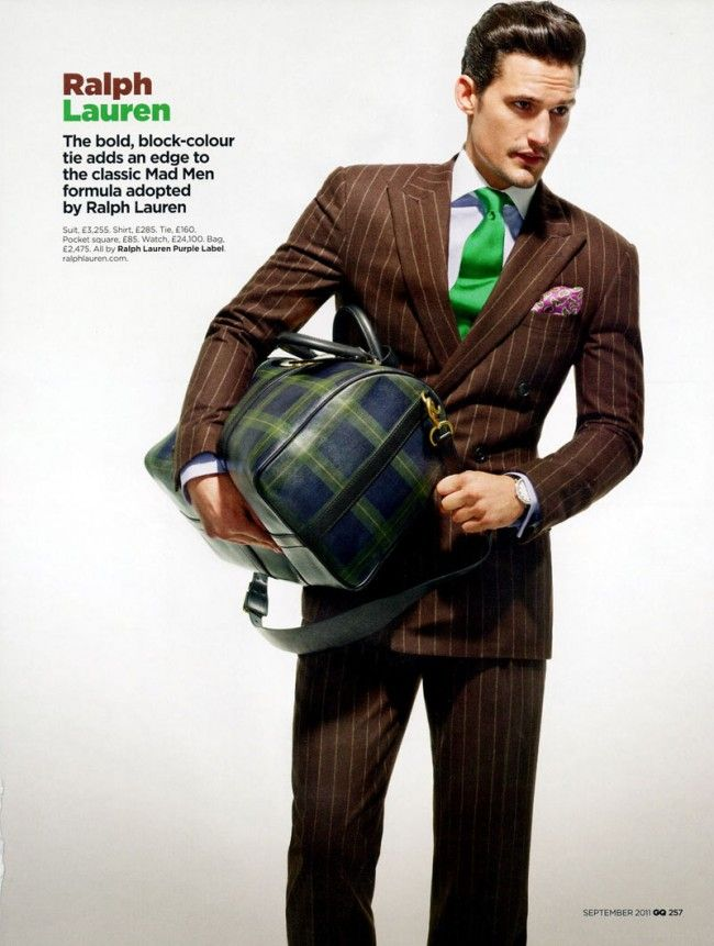 bc161b9a9f2a ralph lauren brown suit striped gq