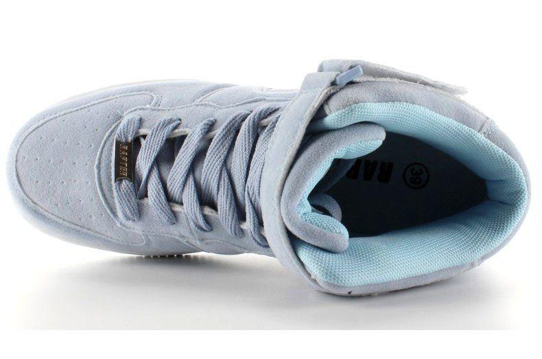 Zamszowe Buty Sportowe Za Kostke B777 Blue Niebieskie Baby Shoes Shoes Sneakers