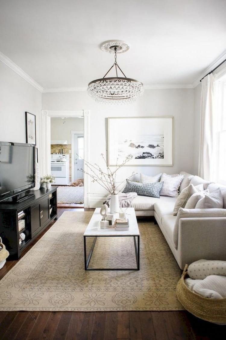 65 smart solution small apartment living room decor inspirations rh in pinterest com