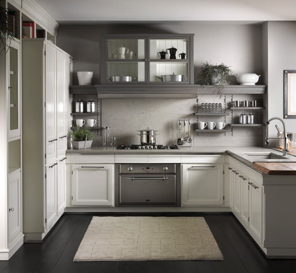 Best 25 white grey kitchens ideas on pinterest cabinet for Grey and white kitchen cabinets