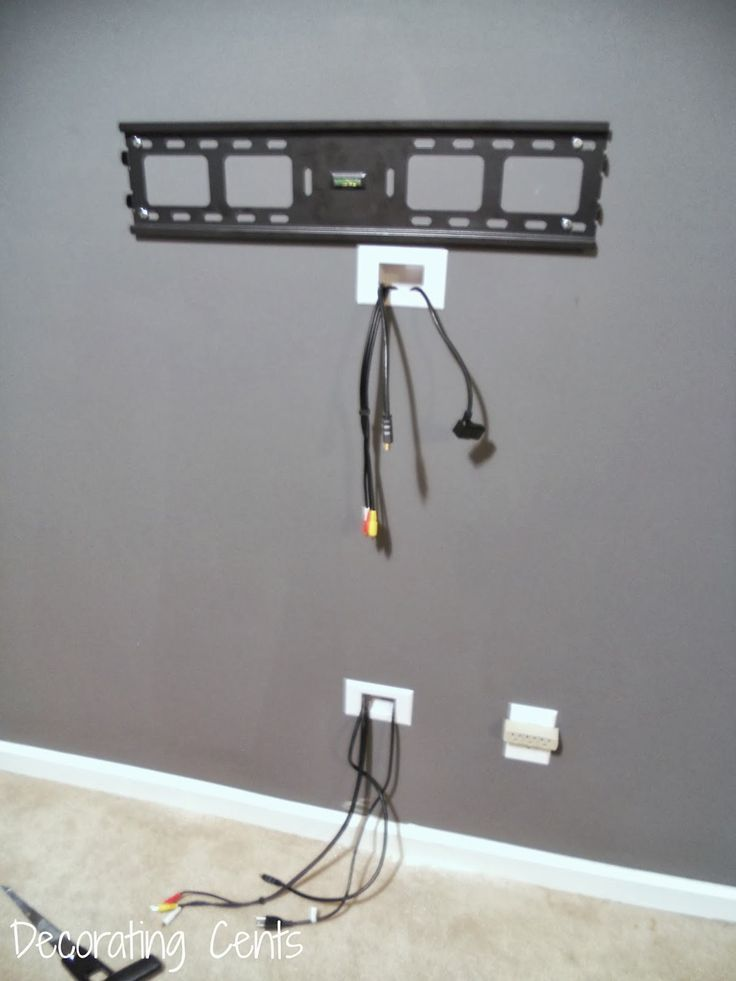 18 chic and modern tv wall mount ideas for living room dnevni rh pinterest co kr  in wall tv wire