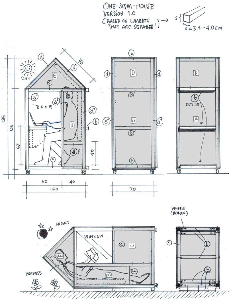 van bo le mentzel one sqm house designboom architecture design magazine
