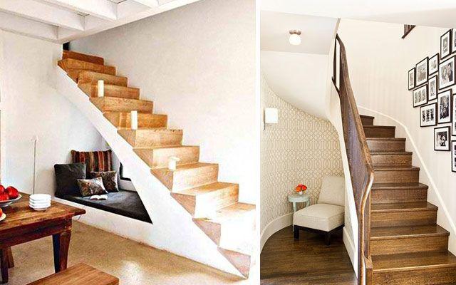 Aprovechar espacios bajo la escalera usos alternativos for Hueco de escalera decorar