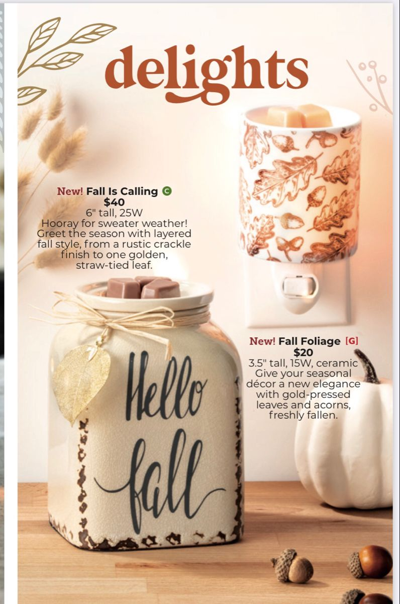 Harvest collection scentsy 2020 in 2020 Scentsy, Scented