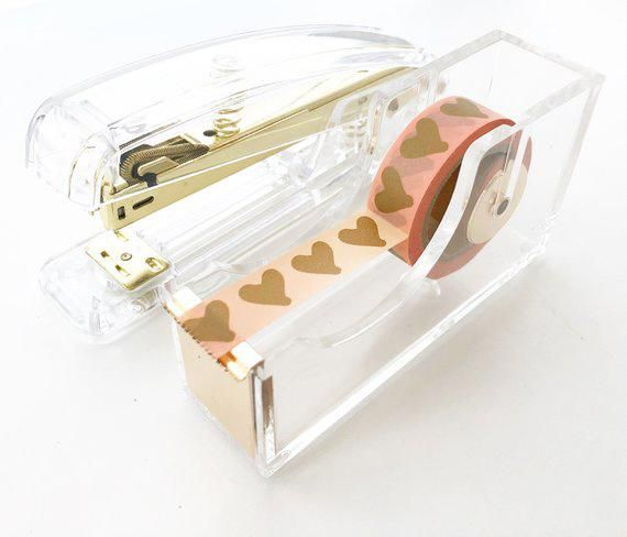 stapler tape dispenser set modern design office desk accessory rh in pinterest com