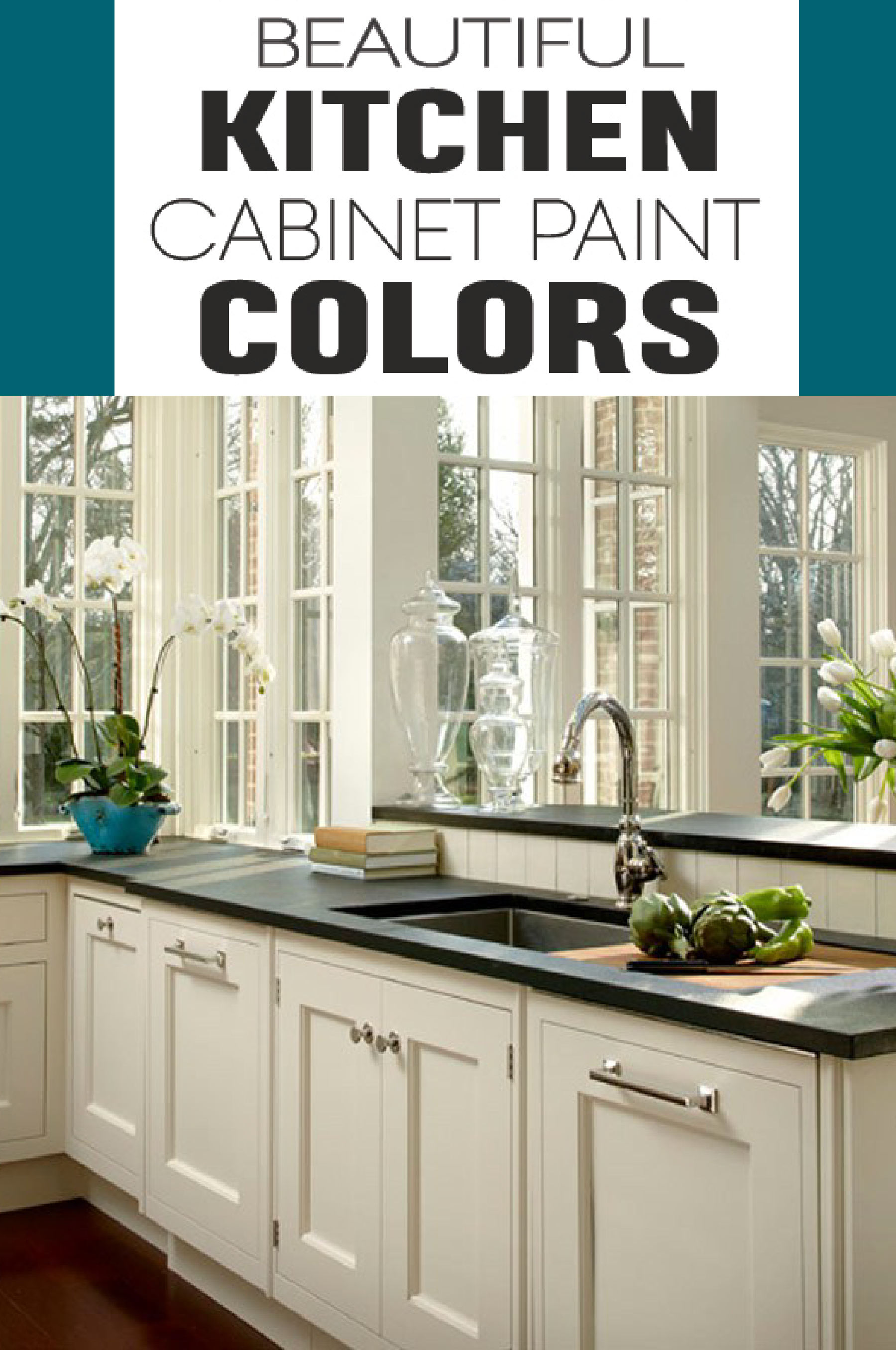 how to pick paint colors for kitchen cabinets painted kitchen and rh pinterest com