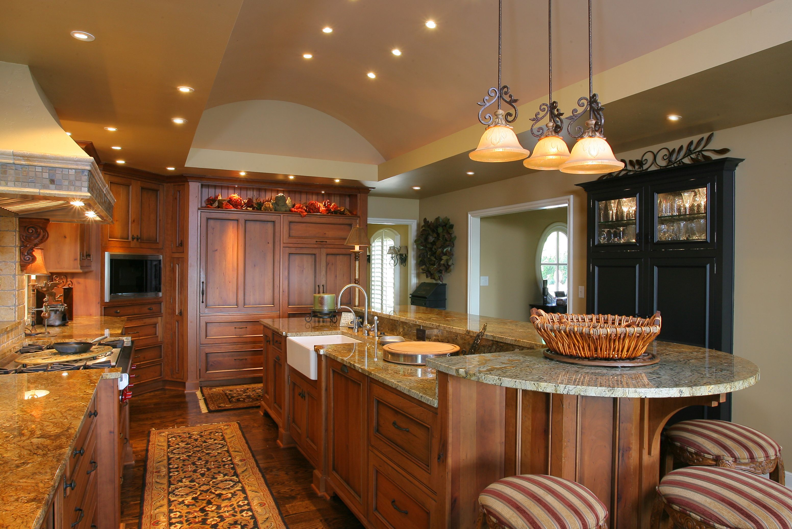 Multi Level Kitchen Islands Google Search Kitchen Island Light Height Narrow Kitchen Island Diy Kitchen Island