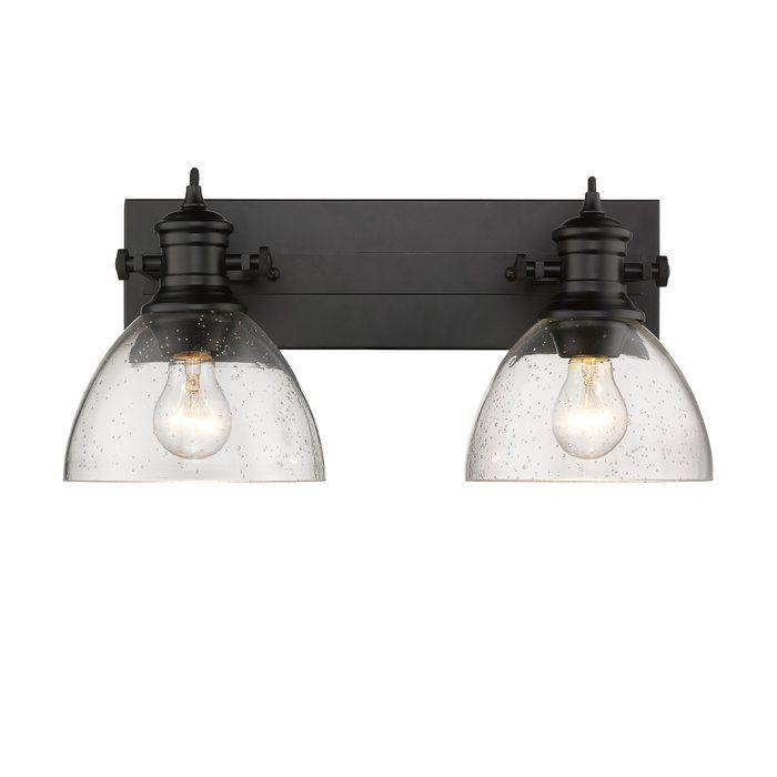 vedder 2 light vanity light in 2019 home sweet home black rh pinterest com