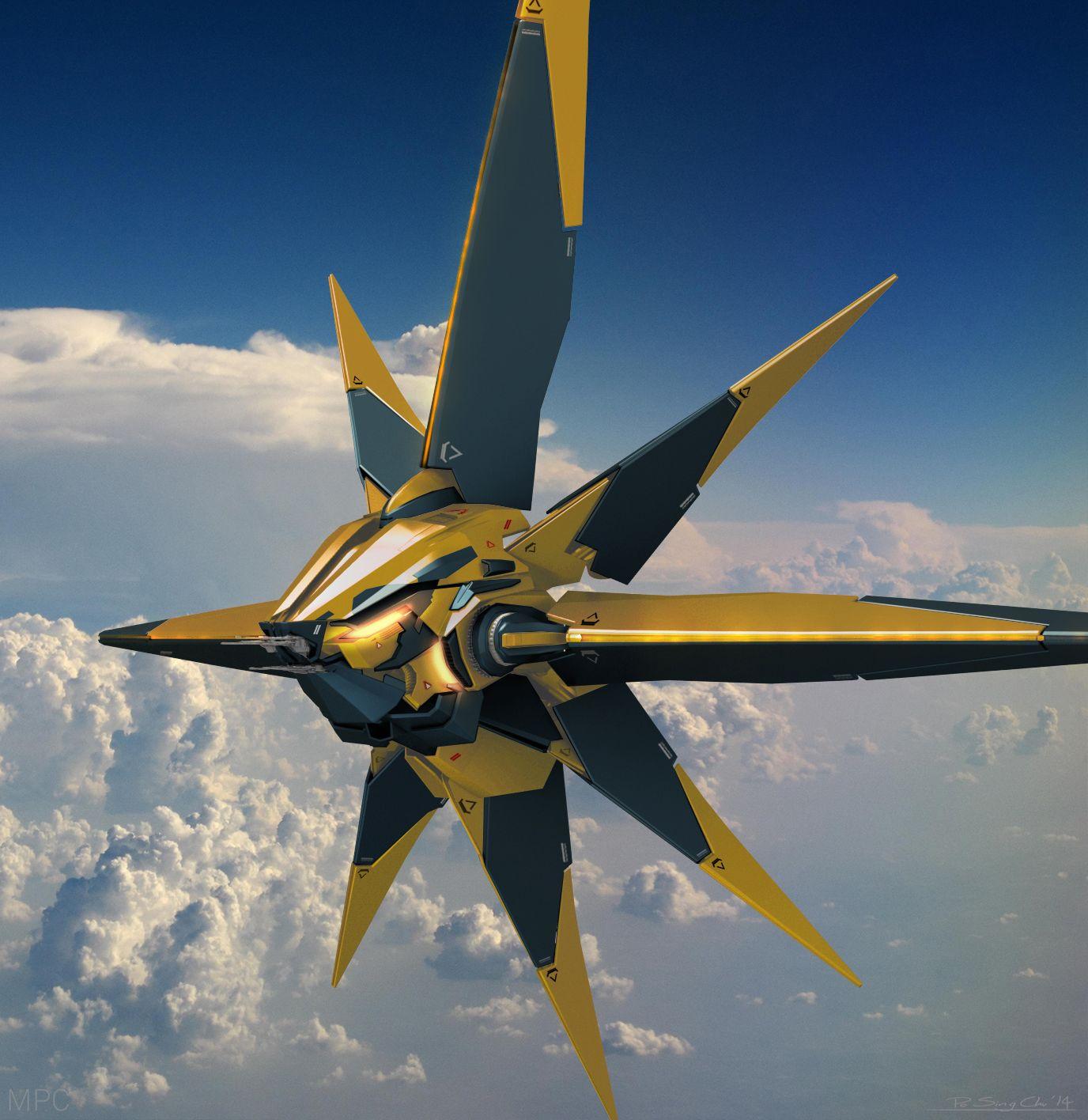 Guardians Of Galaxy Concept Art - Movie Art